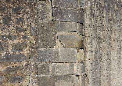 Larochette, Ancien mur de Jardin (angle) - 3