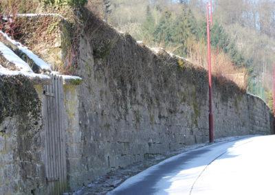 Larochette, Mur de jardin - 5