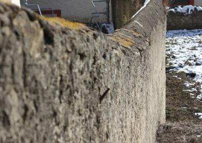 Larochette, mur de jardin - 1