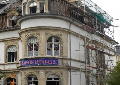 Luxembourg:Gare, Maison Berbère - Destruction 2010 - 1