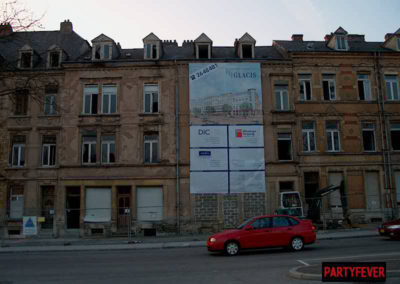 Luxembourg:Glacis, Niklooseck - Destructions 2002 - 2