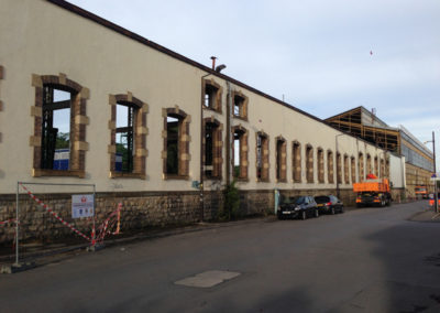 Luxembourg:Hollerich, Fonderie-Aciérie & Ateliers Luxembourg SA - Union des Aciérie -Destruction 07:2014 - 1