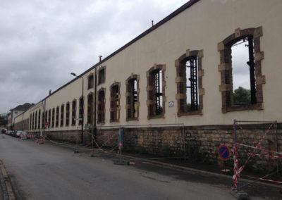 Luxembourg:Hollerich, Fonderie-Aciérie & Ateliers Luxembourg SA - Union des Aciérie -Destruction 07:2014 - 3