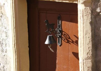 Larochette, Maison baroque - Porte d'entrée