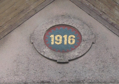 Luxembourg:Gare - 1916